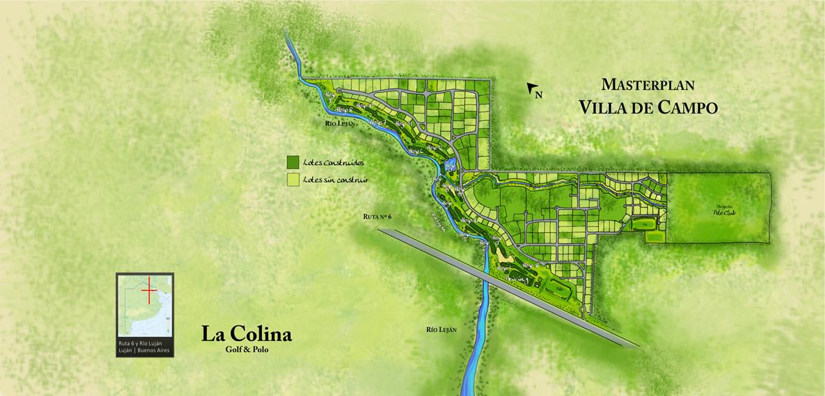 La Colina - Masterplan